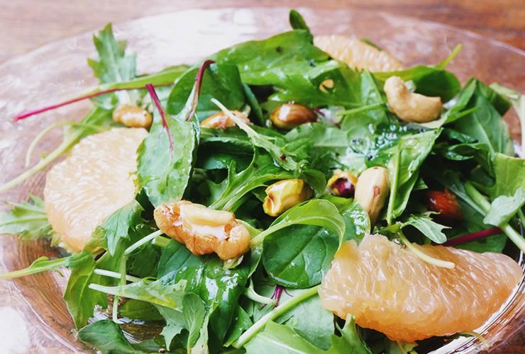 ハニーナッツのグレープフルーツサラダ