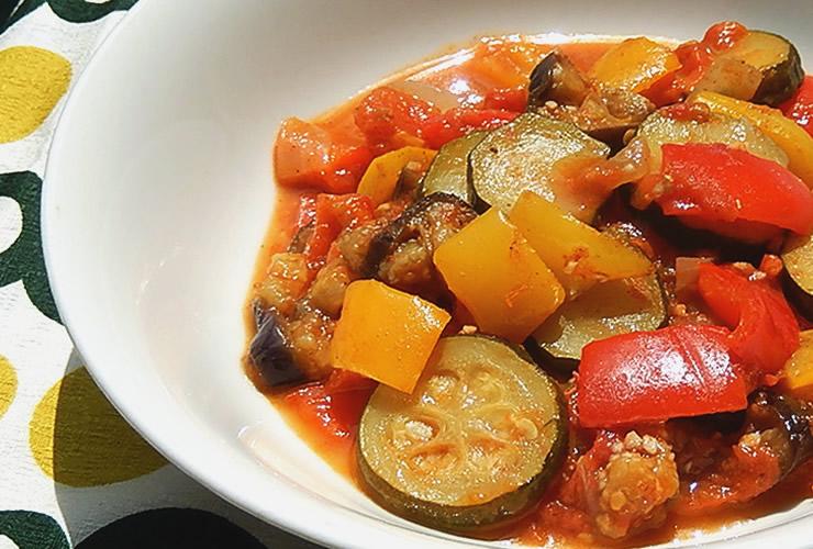 カレーの壺レシピ カレー風味のラタトゥイユ