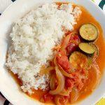 野菜のトマトココカレー