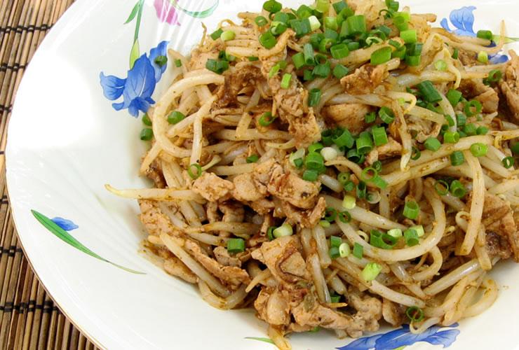 カレーの壺レシピ もやしと豚バラ肉のカレー炒