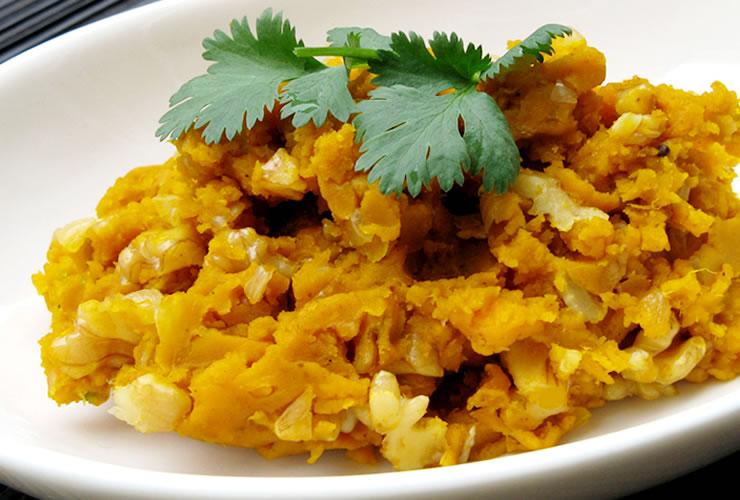 カレーの壺レシピ かぼちゃのカレーサラダ