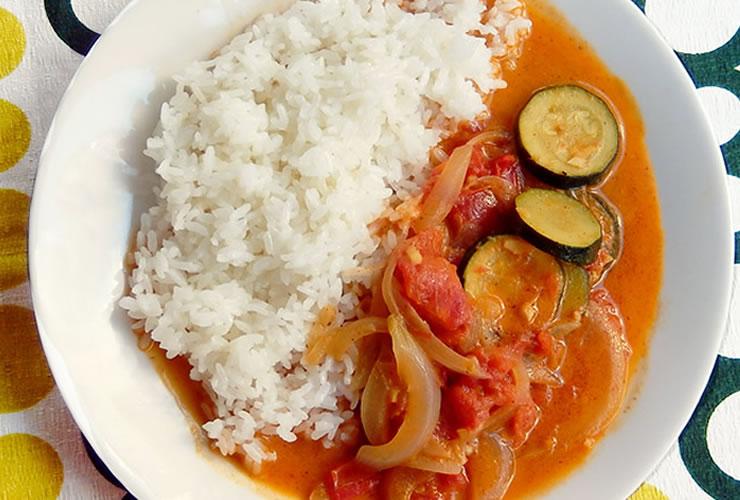 カレーの壺レシピ 野菜のトマトココカレー