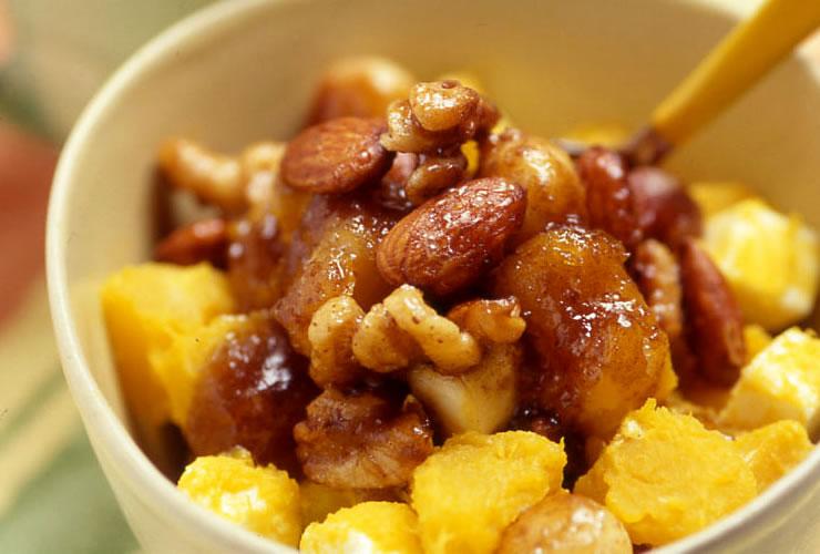かぼちゃのメープルナッツ