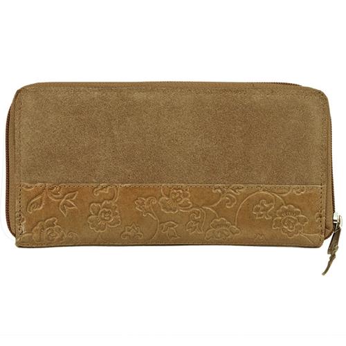 スウェード商品財布