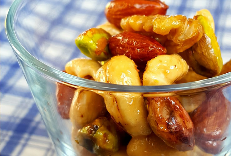 簡単よくばりメープルナッツ