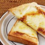 メープルチーズトースト
