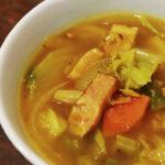 食べるカレースープ
