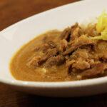 ラム肉のカレー